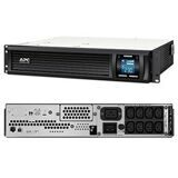 APC SMC3000R2I-RS Источник бесперебойного питания Smart-UPS C 3000VA/2100W 2U RackMount, 230V, Line-Interactive, Out: 220-240V 8xC13/1xC19, LCD, Gray, 1 year warranty, No CD/cables