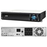 APC SMC2000I-2URS Источник бесперебойного питания Smart-UPS C 2000VA/1300W 2U RackMount, 230V, Line-Interactive, Out: 220-240V 6xC13, LCD, Gray, 1 year warranty, No CD/cables